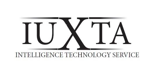 Logo del marchio IUXTA, specializzato nella protezione di dati e informazioni riservate e prevenzione degli attacchi informatici.